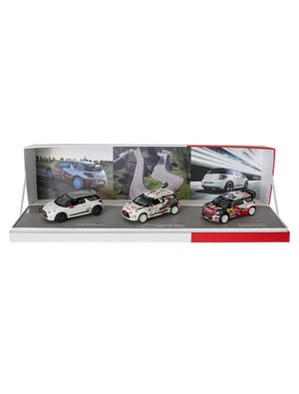 Citroën LifeStyle -  Coffret Citroën DS3 Racing, DS3 R3 & DS3 Wrc 2012 1/43
